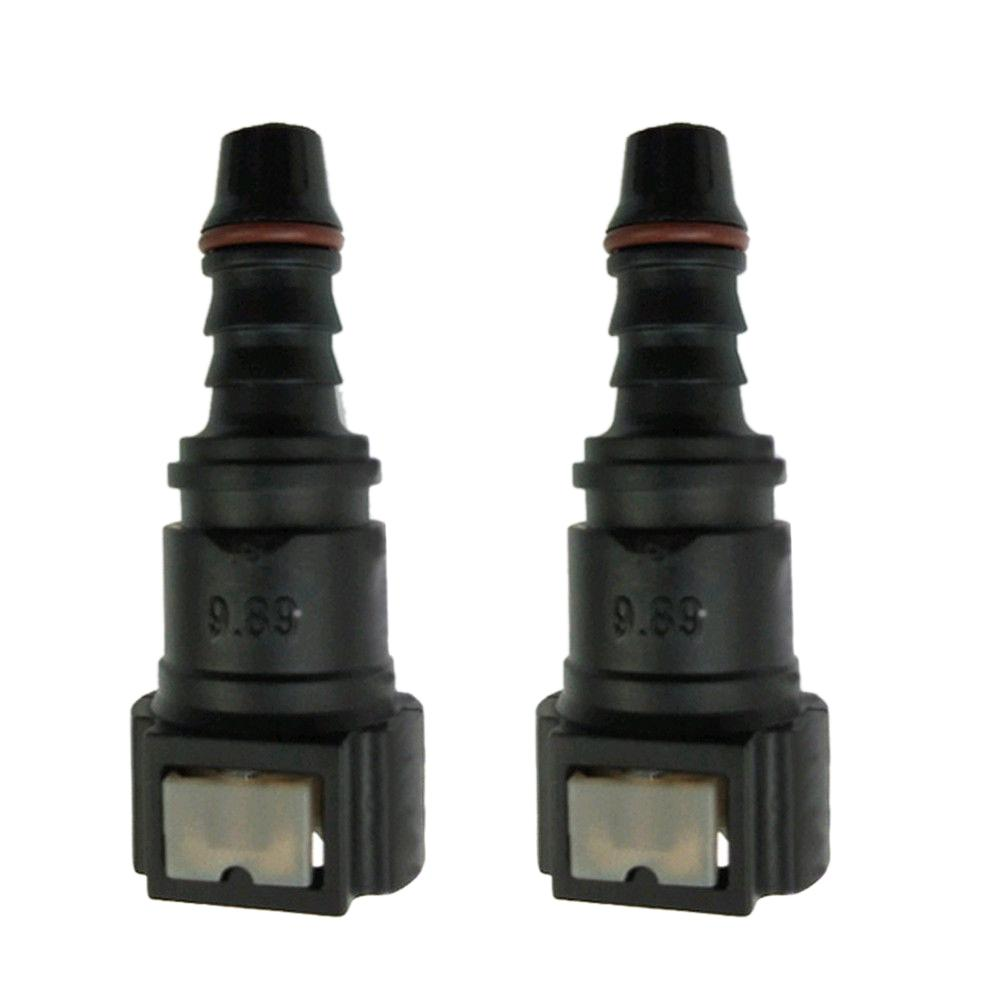 """New 5//16/"""" 9.89 Fuel Line Quick Connect Release Disconnect Connector Gas Petrol"""