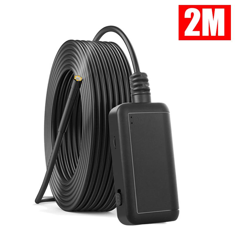 6 LED HD WIFI Endoscope Wireless Borescope Inspection Camera For iPhone Android