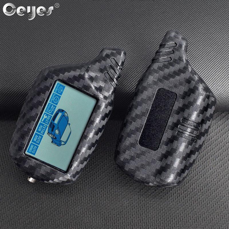 Фото - Ceyes углеродного волокна Зерно Зерно Ключ Защита крышки для звездной линии B9 B6 B91 B61 A91 A61 C9 LCD дистанционного roh c9