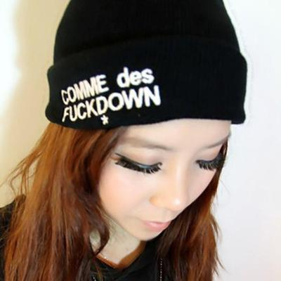 1c3cecf5e54 Unisex Fashion Accessories Autumn Comme Des Fuckdown Knitted Hat Warmer  Gifts