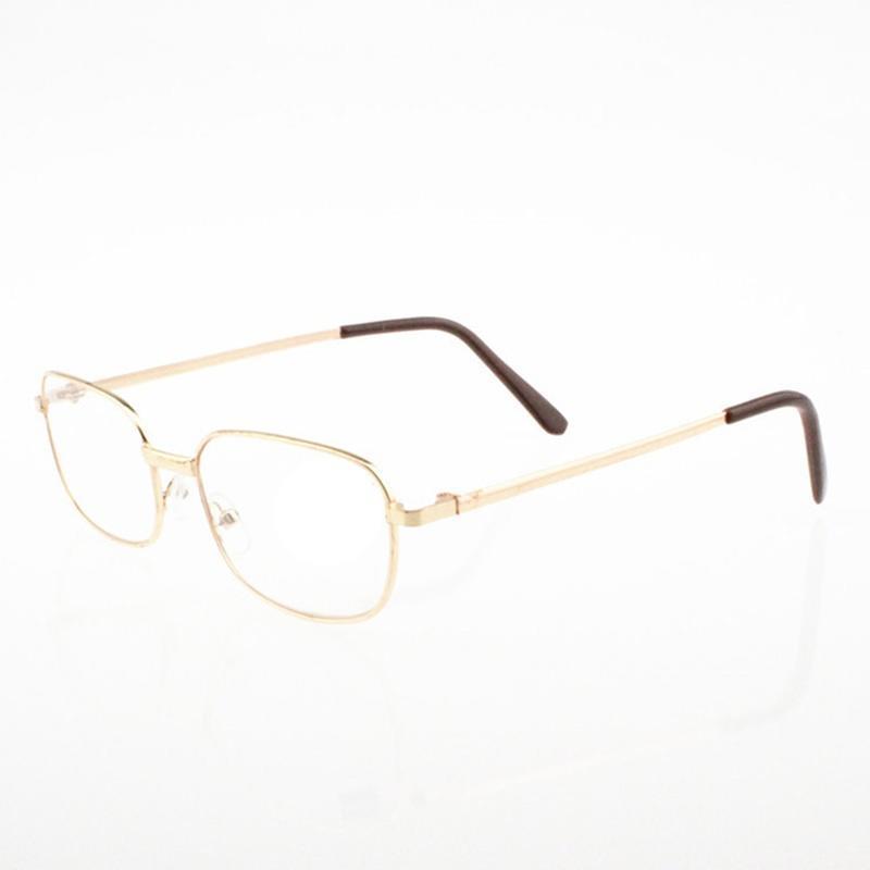 944994dee56 Fashion Bifocal Lens Rimmed Men s Reading Glasses Gold Metal Frame  Eyeglasses-buy at a low prices on Joom e-commerce platform