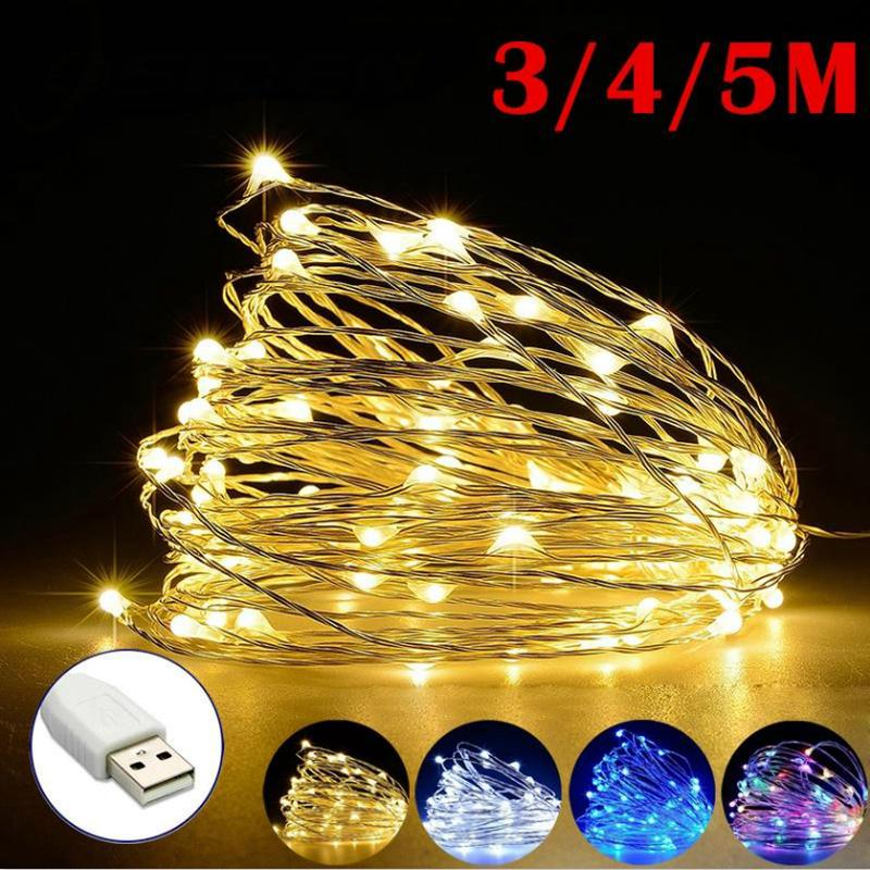 3-Meters LED String Lights Copper Wire Fairy Outdoor Garden Romantic Party