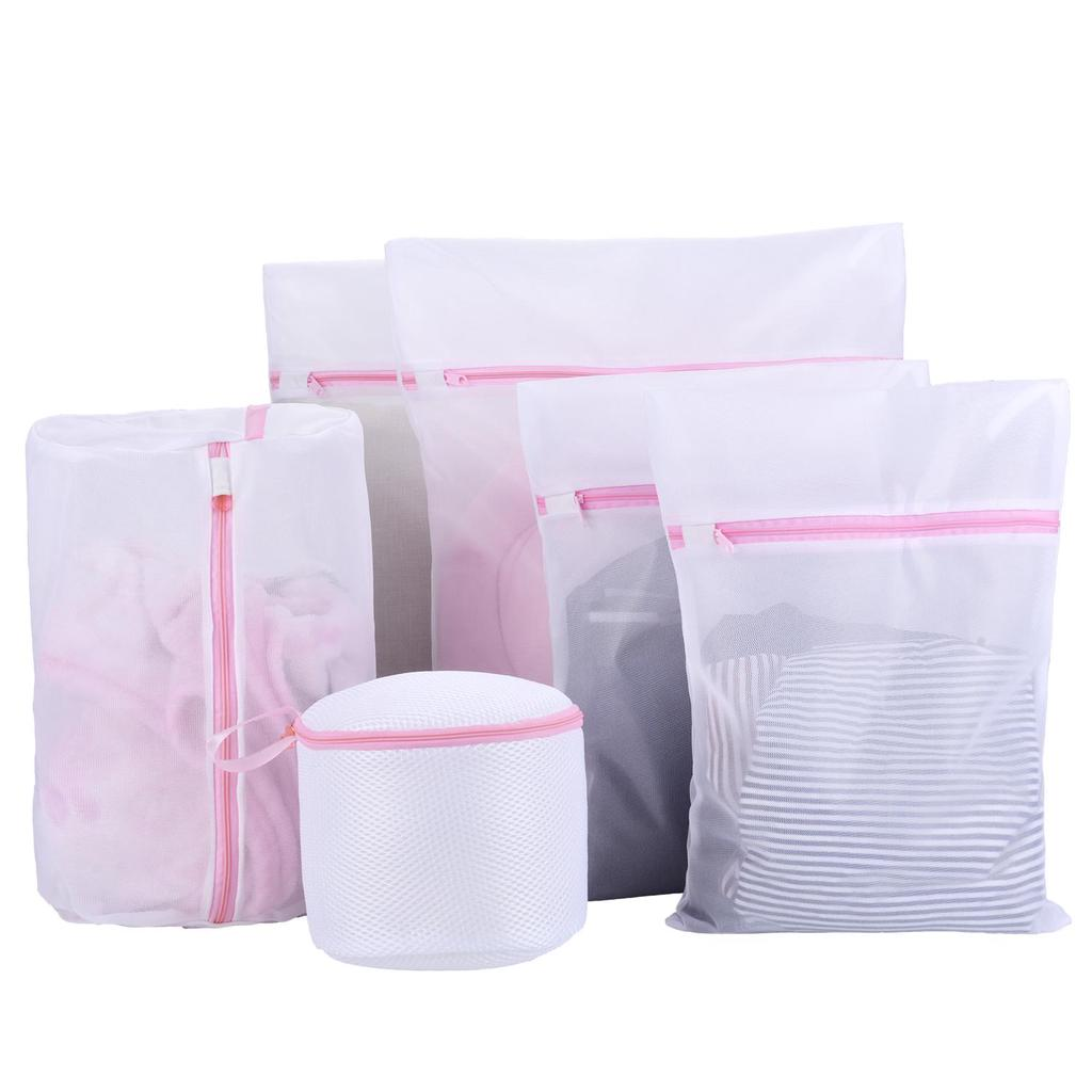 1pc New Novelty Home Washing Mesh Net Bags Laundry Bag Large Thickened Wash Bags Useful Protect Clothes Bathroom Storage & Organization