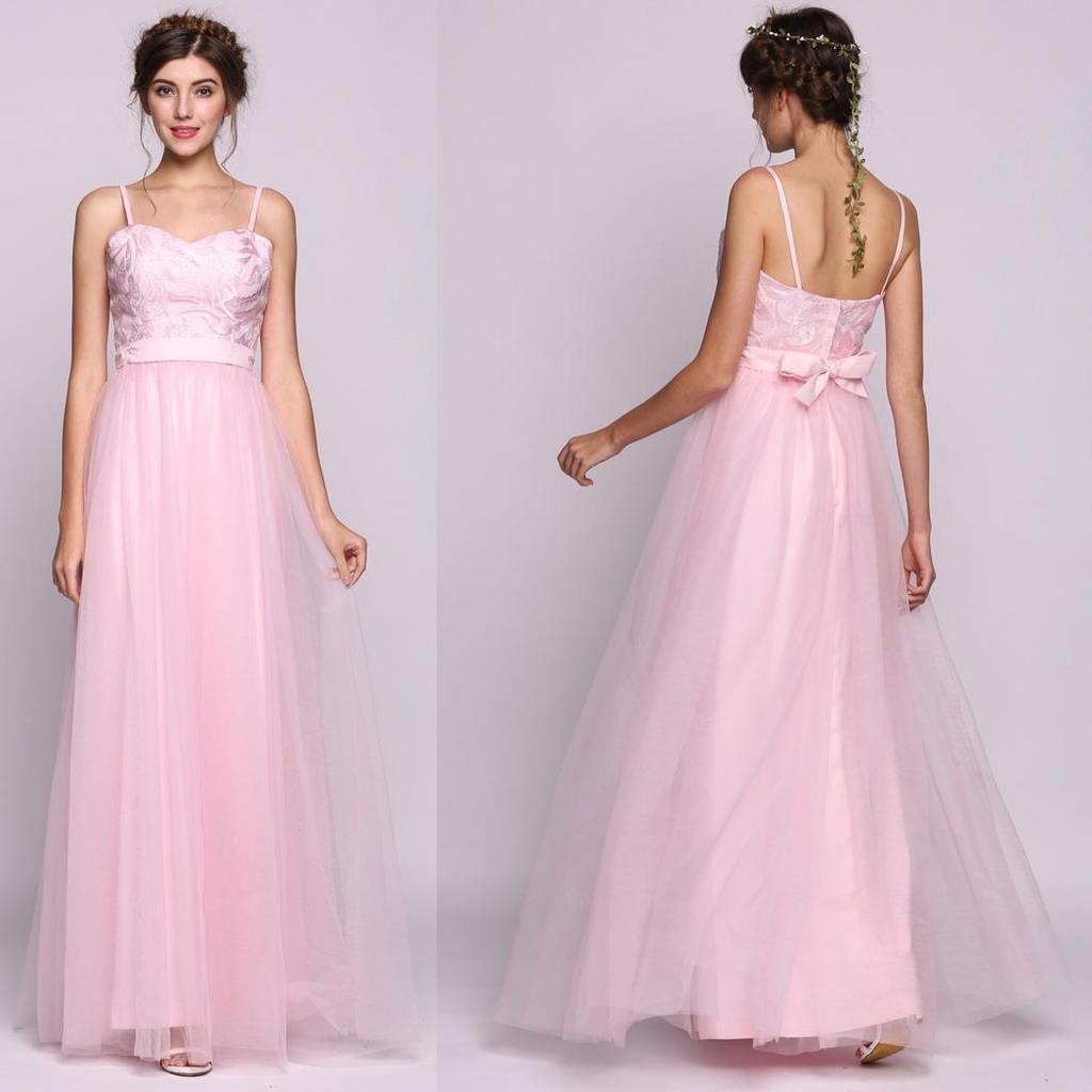 Atractivo Vestido De Dama De Escote Corazón Inspiración - Colección ...