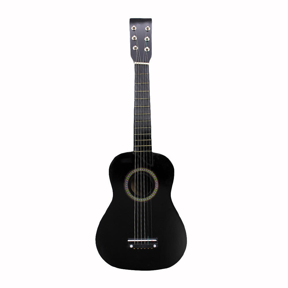 23 Inch Black Basswood Acoustic Guitar With Guitar Pick Wire Strings-buy at a low prices on Joom e-commerce platform