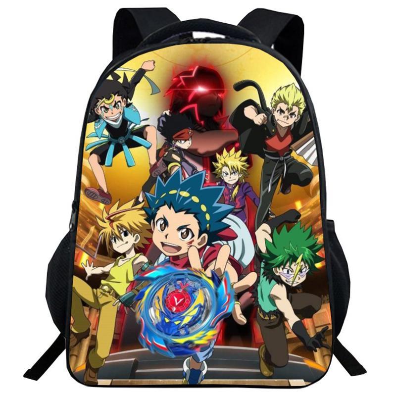 Anime Beyblade Kindergarten Kids Backpack Children School Bags Gift For Children