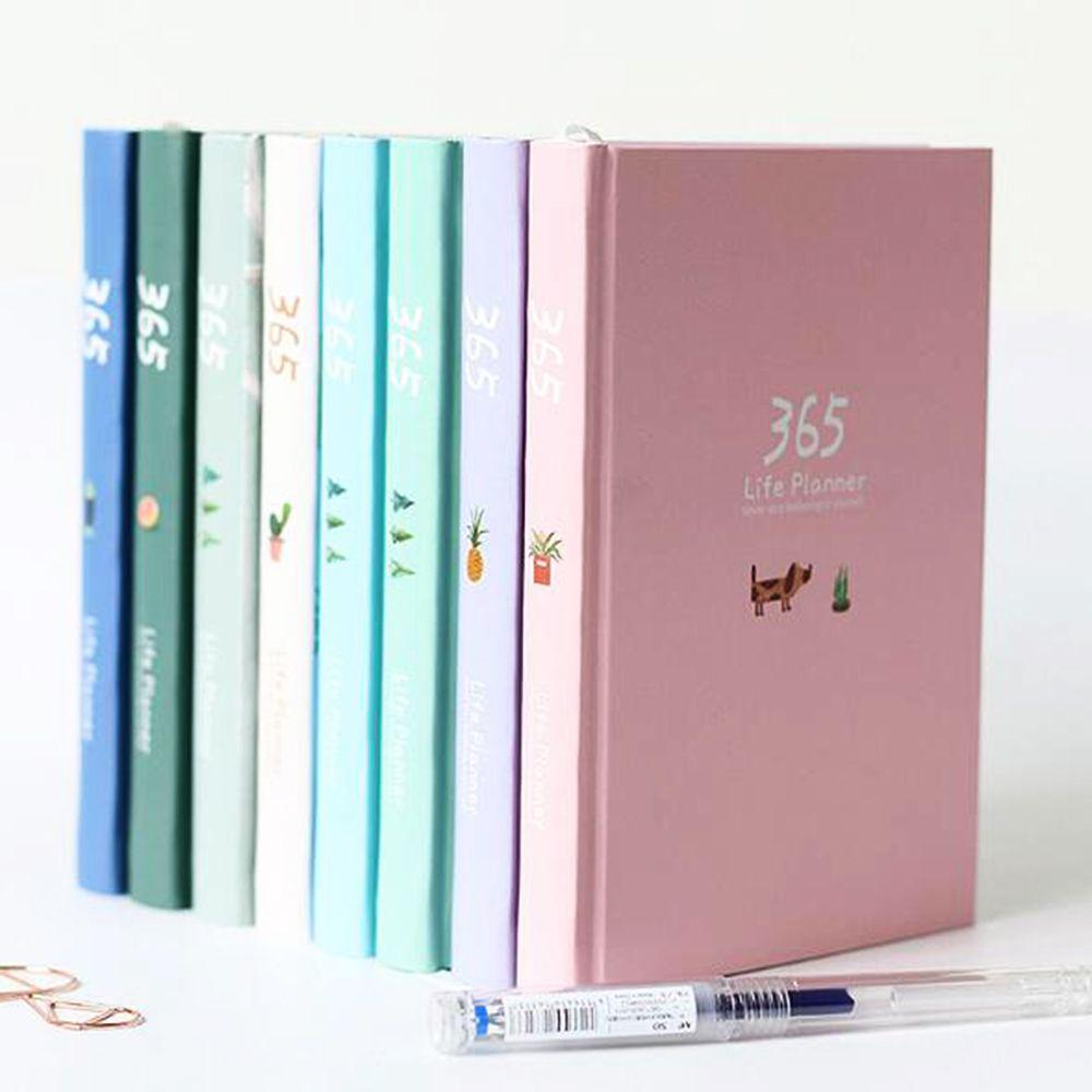 Diary Vintage Painting Weekly Chinese Style Notebook Planner Book Blank Notepad