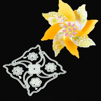 Cutting Dies 3D DIY Scrapbooking Craft Die cut Flower heart candy gift Box Metal