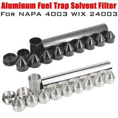 13PCS Fuel Filter 1/2-28 5/8-24Aluminum Trap Solvent for NAPA 4003 24003  10IN Strainer