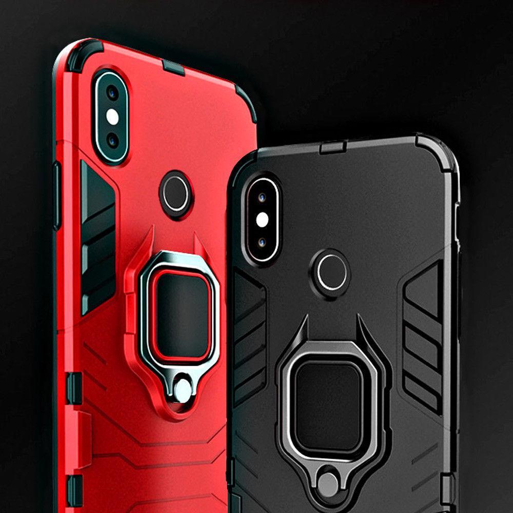 Магнитный автомобиль держатель Телефон Кольцо Стенд TPU PC Hybird случае для Samsung Huawei IPhone Xiaomi Redmi фото