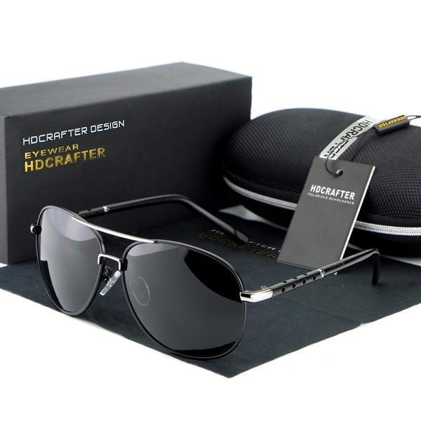 Мода унисекс поляризованные Авиатор вождение гольф очки солнцезащитные очки  дизайнер Спортивные рыбалки ba65db341f2