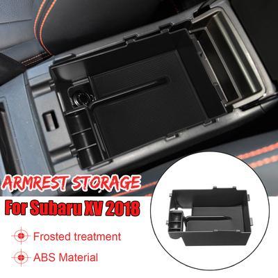 Fit For Subaru Xv Crosstrek 2018 Armrest Storage Box Center Console Bin Tray