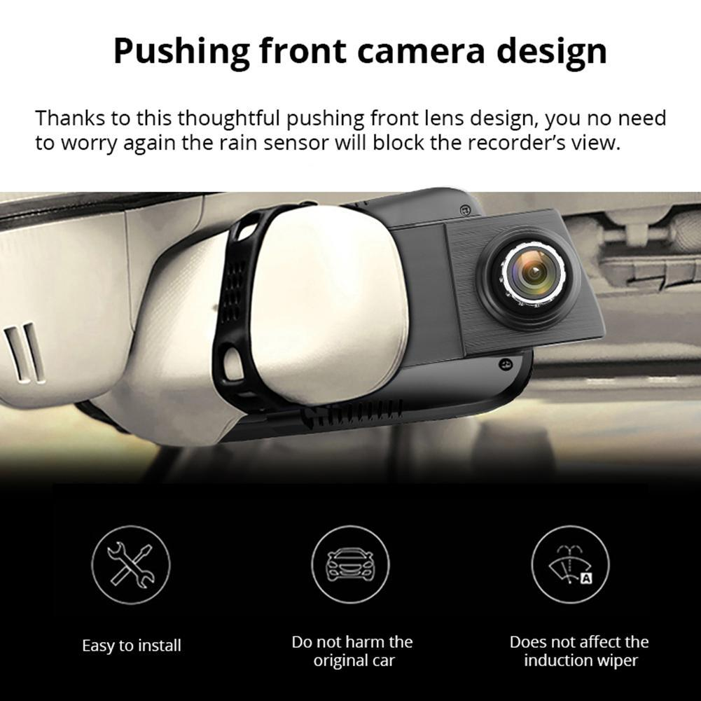Car DVR Phisung E08 10in IPS Touch Screen Bluetooth WiFi 4G Android Camera MTK