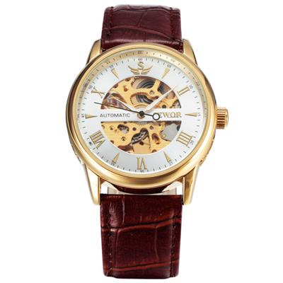 fd3a63eda3a SEWOR relógio de pulso mecânico homens esqueleto clássicos relógios  automáticos