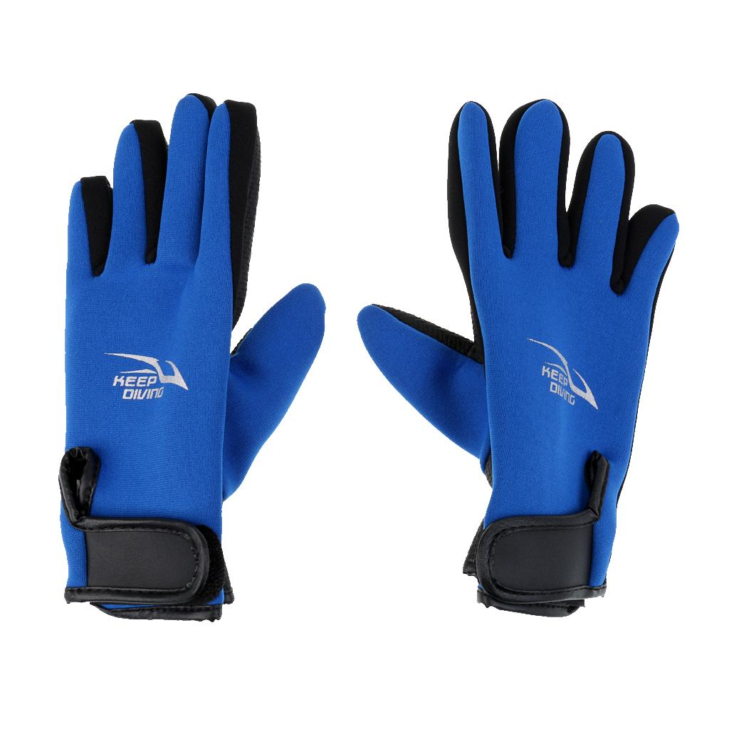 2mm Neoprene Adult Size Wetsuit Gloves Kayak Diving Swimming Surfing Gloves BDY