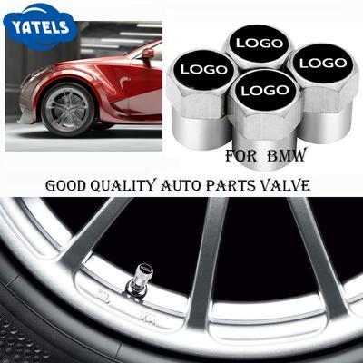 BMW METAL DUST VALVE stem CAPS tyre wheel COVER ALUMINIUM SOLID hexagon SECURE