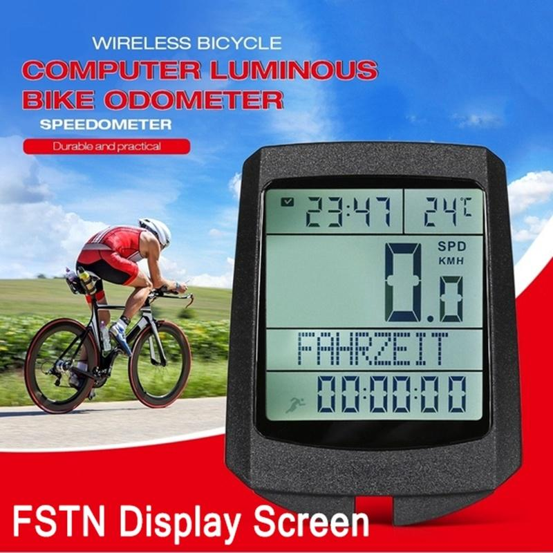 G GPS Cycling Computer Wireless Cadence Heart Rate Bike Speedometer Odometer Cy