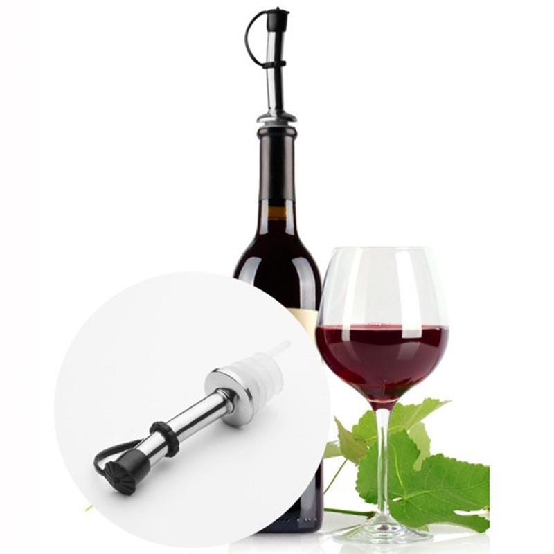 Elegant Function Metall Rot Wein Flaschenverschluss Kork Wiederverwendbar