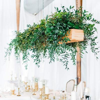 Artificial Willow Garland, Faux Silk Willow Leaves Vines Hanging Willow Leaves Garland Gre