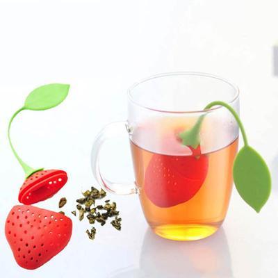 Teapot Accessory 1 PCS Kitchen Supplies Silicone Tea Bag Tea Infuser Non-toxic Tea Strainer