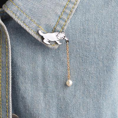 Arts,crafts & Sewing 1 Pcs Cartoon Bicycle Wish Bottle Metal Brooch Button Pins Denim Jacket Pin Jewelry Decoration Badge For Clothes Lapel Pins