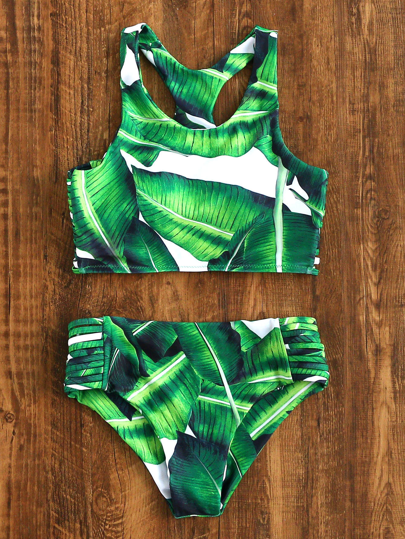 2017女士推高性感高领比基尼套装连衣裙泳衣泳装女装复古海滩服