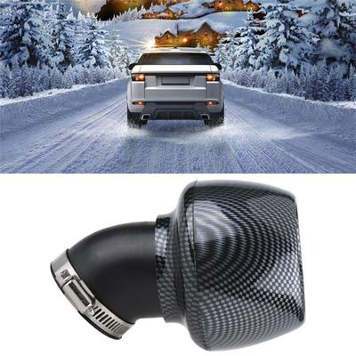 Carbon Fiber Universal Air Filter Cleaner for 150cc-250cc Motorcycle  Scooter ATV Dirt Bike