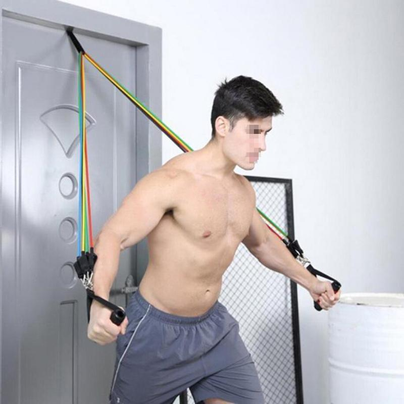 Hot Crossfit Yoga Fitness Hanging Belt Tension Pull Rope Home Exerciser Training