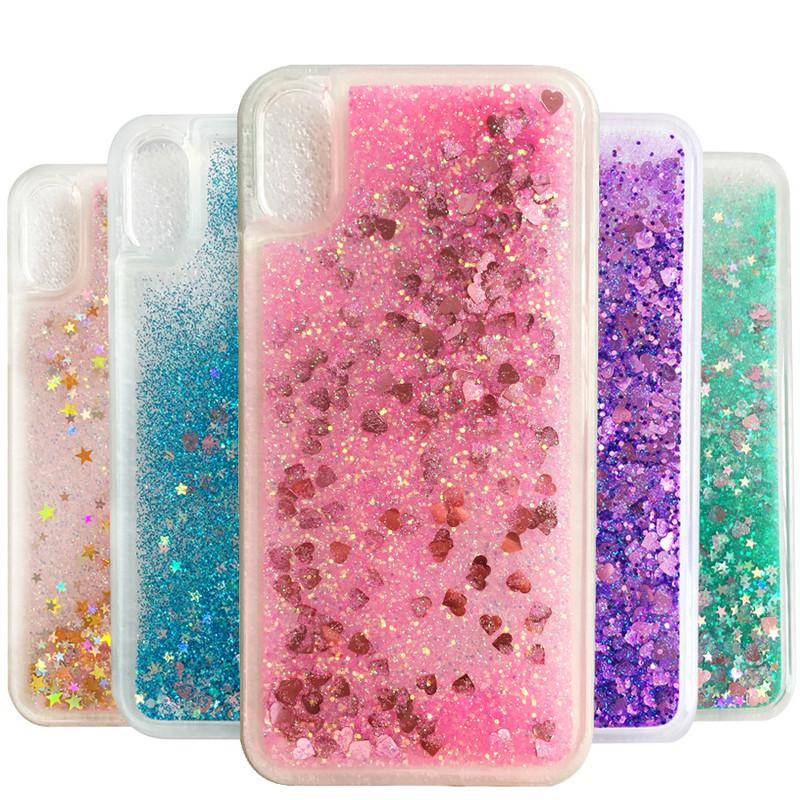 Suitable for Huawei Y5 (2019) Liquid Case Coque Honor 8S Back Cover Honor 8X Glitter Soft Phone Case