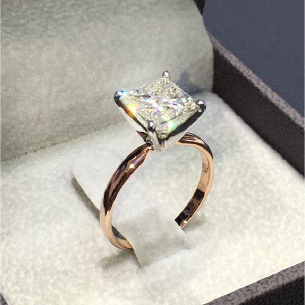 Кольцо из циркония с горным хрусталем, бижутерия фото