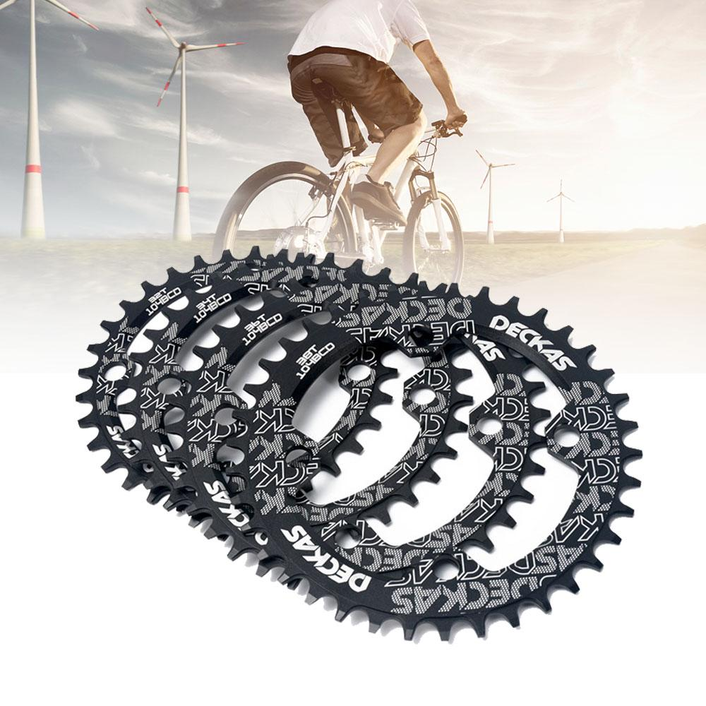 DECKAS MTB Bike Chain Ring Round//Oval Chainring 104mm 32//34//36//38T Chainwheel