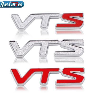 Car 16V Chrome Badge Adhesive Brand New