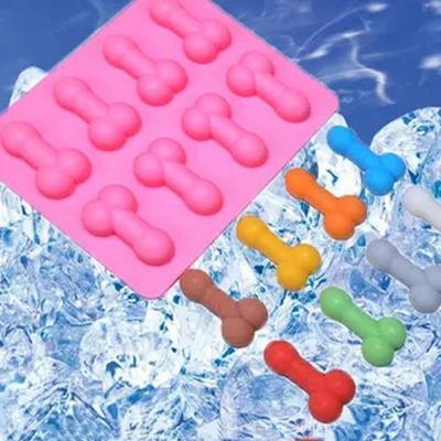 Novelty Dicky Willy Shape Fondant Cake Decoration DIY Mold Hen Party 3 Size