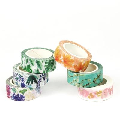 DIY Floral Washi Sticker Decor Roll Paper Masking Adhesive Tape Crafts Gift New