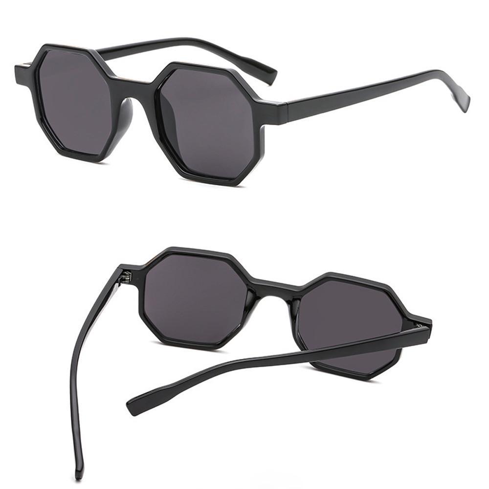 Retro Vintage Unisex Sunglasses Rapper Rhombic Shades FORUU Glasses
