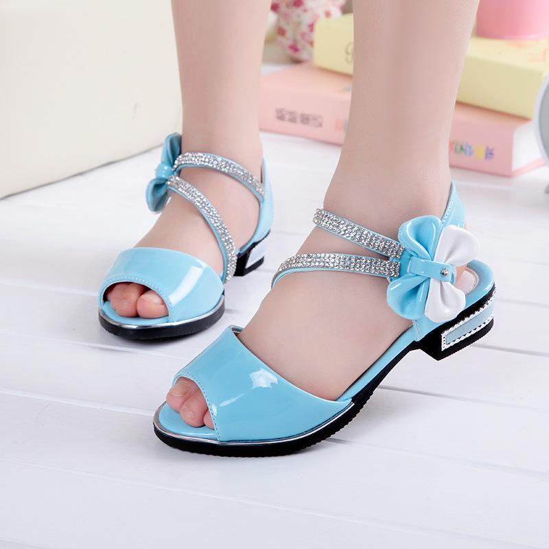 2018 Summer New Children s Sandals Girls Sandals Princess Shoes Girls Baby Student  Shoes-buy at a low prices on Joom e-commerce platform 29822c19f30c