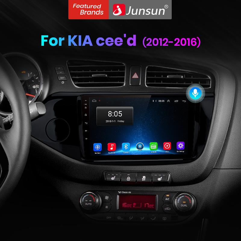 Junsun V1 Pro 4g 64g Android 10 For Kia Cee D Ceed Jd 2012 2016 Car Radio Multimedia Video Player Navigation Gps 2 Din Dvd Buy From 176 On Joom E Commerce Platform