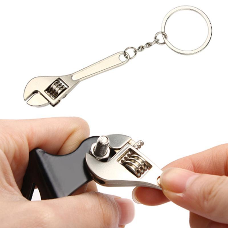 Портативный автомобильный брелок ключ формы моделирования гаечного ключа ключевые цепочки кольца день рождения подарок Авто аксессуары – купить по низким ценам в интернет-магазине Joom