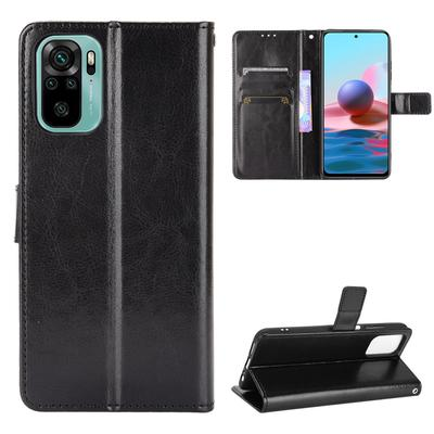 Luxury Leather Wallet Case for Xiaomi Redmi Note 10 Pro 9T 9 9A 9C 9AT Mi 11 Lite Samsung Galaxy A12 A02 A02S A32 A52 A72 A22 M12 M02 S21 FE S20 Plus