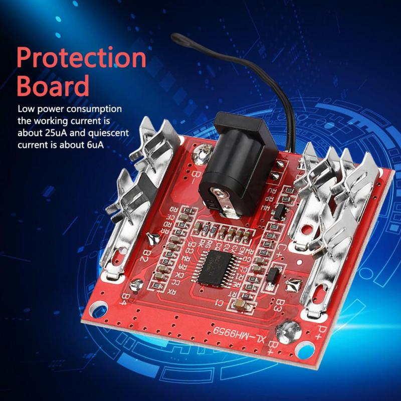 5S 18//21V 20A Battery Protection Board Li-Ion Lithium Battery Pack Protection Circuit Board PCB BMS Module for Cell Pack Power Tools