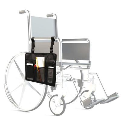 нейлон инвалидной коляске боковой мешок подлож скутер держатель сумка телефон организатор хранения