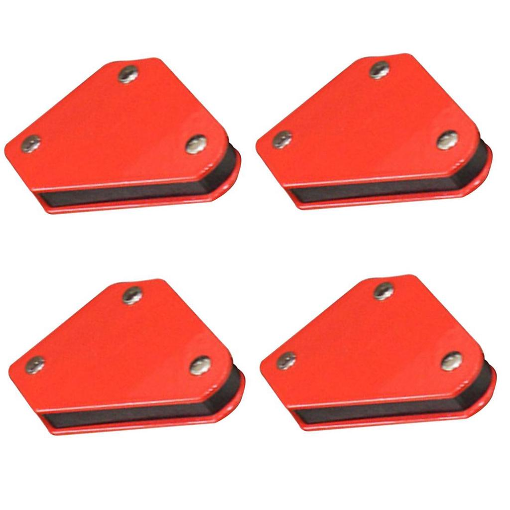 4Pcs Multi-Angle Mini Triangle Soldering Positioner 9Lb Fixed Angle Magnetic Welding Locator Tool