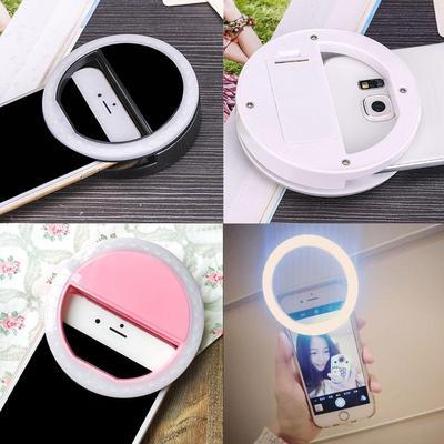 Selfie aro relleno luz cámara fotografía para el IPhone para teléfono Android