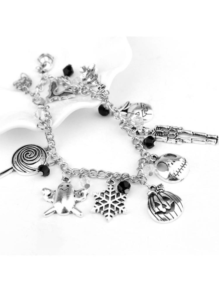 Horror Movie Charm Bracelet Nightmare Before Christmas Bangle Jewelry Chucky Halloween Buy At A Low Prices On Joom E Commerce Platform