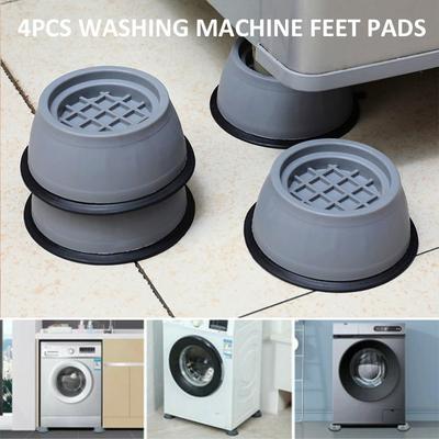Kali 4 Pcs Support Pads For Washing Machines Anti-vibration Leg Stopper Feet Pads