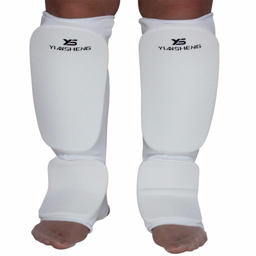 KARATE Shin in step Protector  Leg Foot Guard Sparring Gear