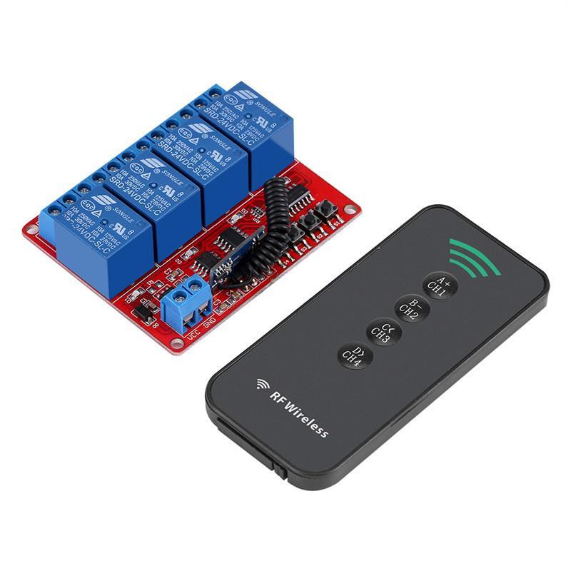 Modulo interruttore telecomando a infrarossi 1CH 12V Kit telecomando IR Interruttore rel/è ON//OFF ricevitore Wirless