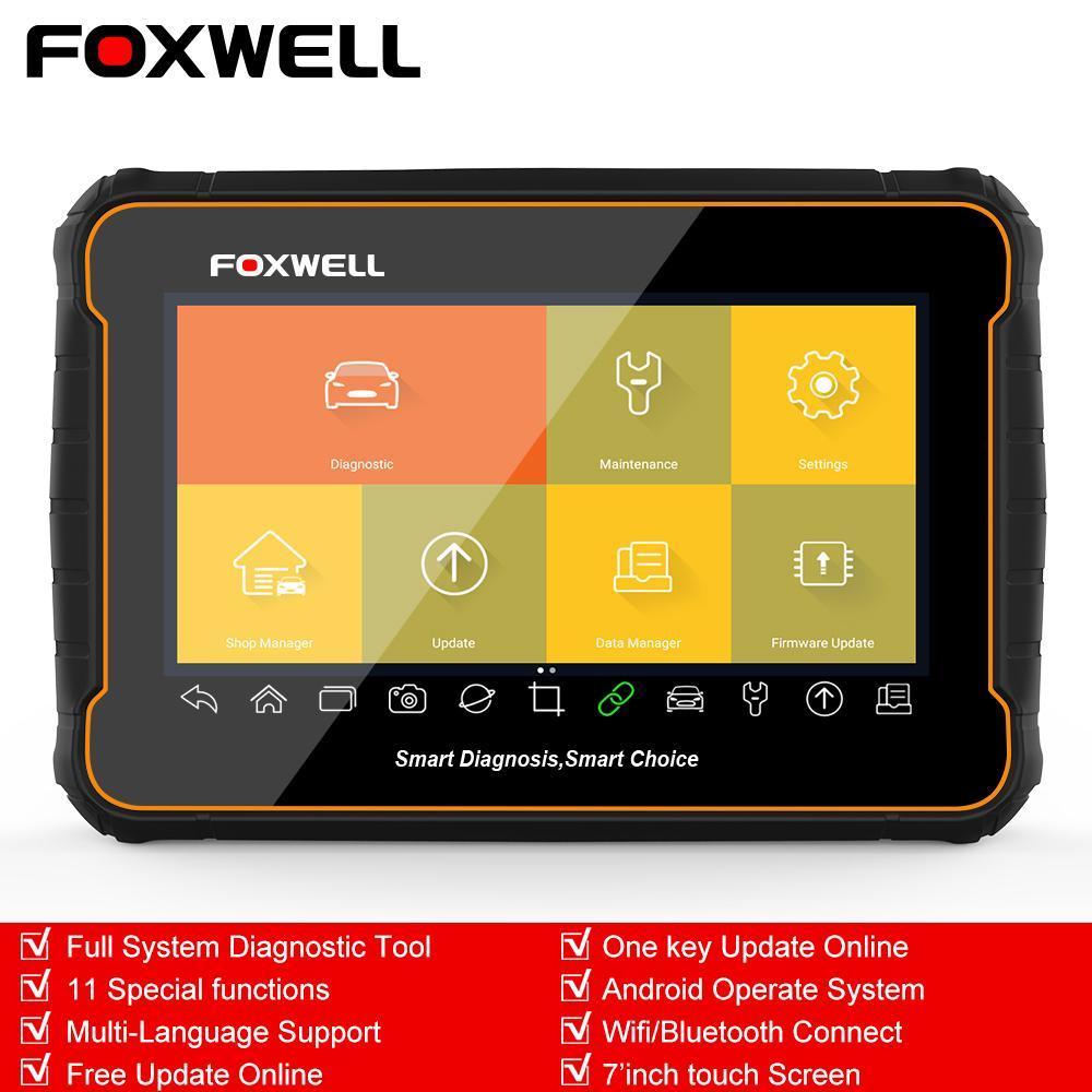 Full System OBD2 Scanner WIFI Bluetooth 8 Coding Oil EPB DPF Diagnostic Tablet