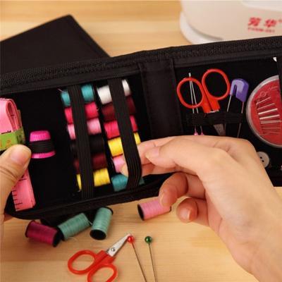Hemline Purse Styled Travel Sewing Kit