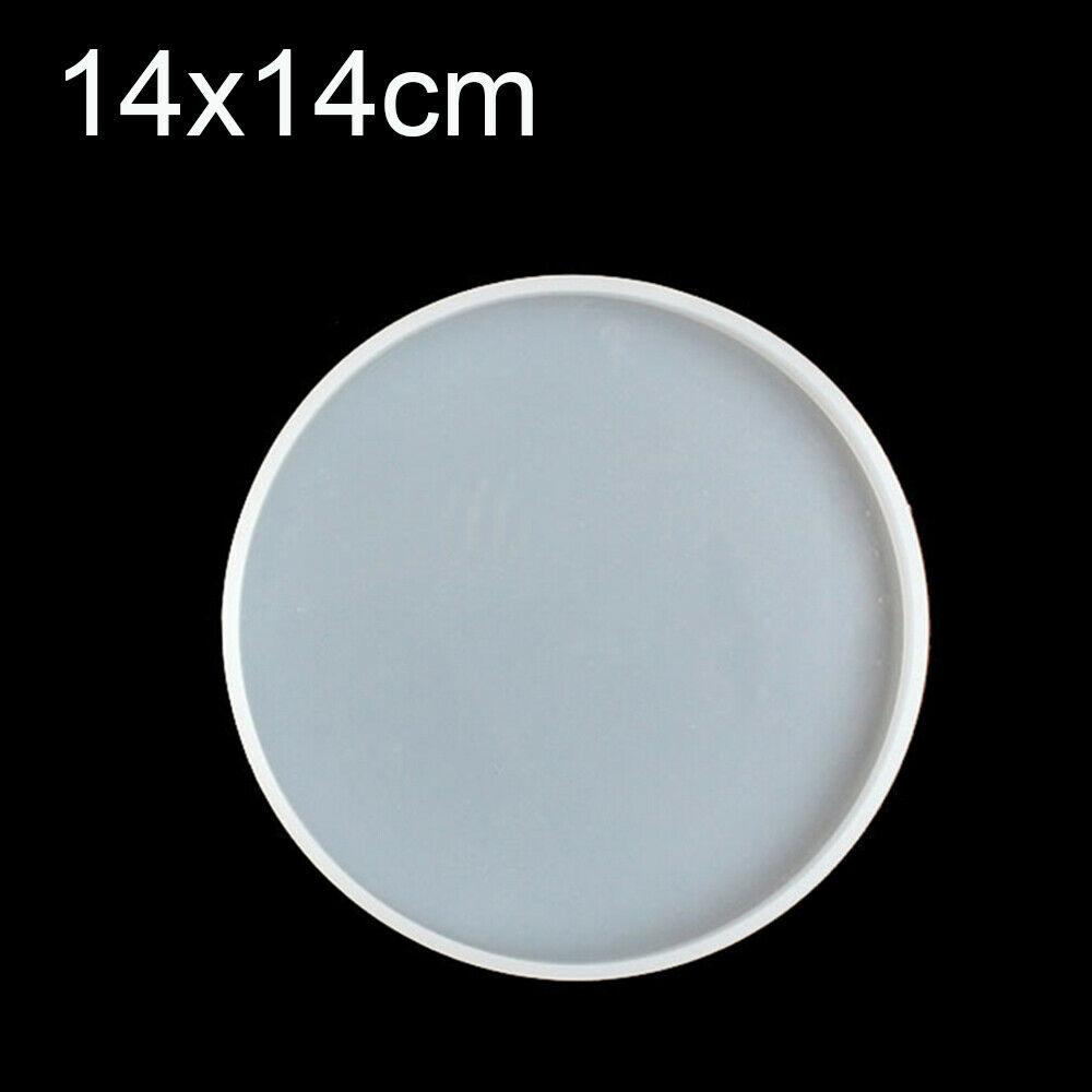 6mm Casting Mold Plain Circle Shape Mold Handmade Mold, Silicone Mold for Resin